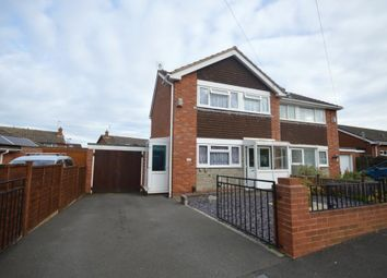 Thumbnail 3 bed semi-detached house for sale in Surbiton Crescent, Exeter, Devon