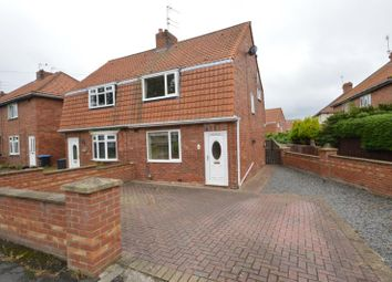 Thumbnail 2 bedroom semi-detached house for sale in Westmorland Place, Willington, Crook, County Durham