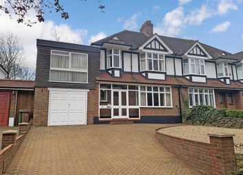 Thumbnail 4 bed semi-detached house for sale in Foresters Drive, Wallington, Surrey