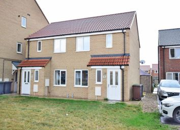 Thumbnail 2 bed semi-detached house for sale in Forge Way, North Hykeham, Lincoln
