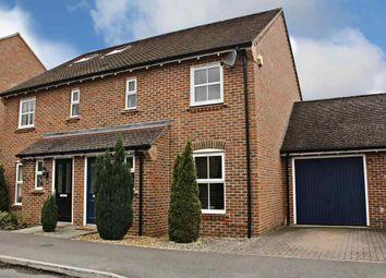 Thumbnail 3 bed semi-detached house for sale in Avington Way, Sherfield-On-Loddon, Hook