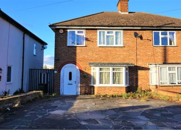 Thumbnail 3 bed semi-detached house to rent in Warden Avenue, Romford