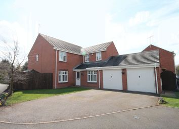 Thumbnail 5 bed detached house for sale in Stuart Way, Market Drayton