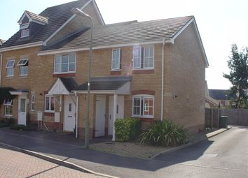 Thumbnail 2 bed end terrace house to rent in Kingswood Close, Whiteley, Fareham
