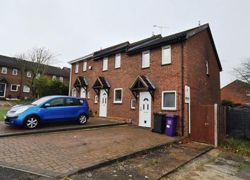 Thumbnail 2 bed end terrace house to rent in Campbell Close, Hitchin