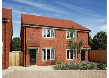 Thumbnail 2 bed semi-detached house for sale in Hawser Road, Tewkesbury, Gloucestershire