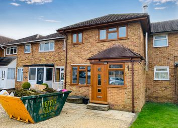 Thumbnail 3 bed terraced house for sale in Hallsfield, Cricklade, Swindon