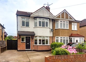 Thumbnail 4 bed semi-detached house for sale in Pavilion Gardens, Staines-Upon-Thames, Surrey