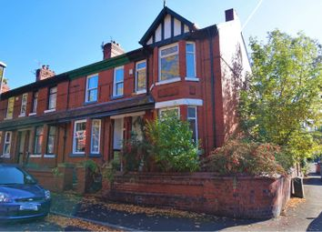 Thumbnail 3 bed end terrace house for sale in Poplar Avenue, Manchester