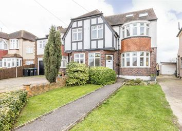 Thumbnail 4 bed semi-detached house for sale in Parkside Crescent, Berrylands, Surbiton