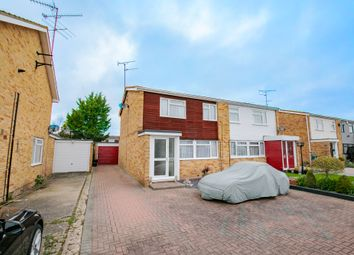 Thumbnail 3 bed semi-detached house for sale in Spruce Road, Woodley, Reading