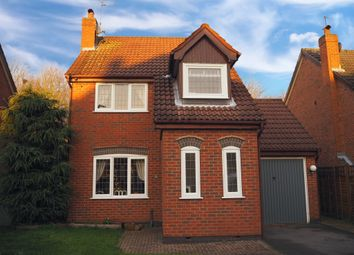 Thumbnail 3 bed detached house for sale in Knightsbridge Drive, Nuthall, Nottingham