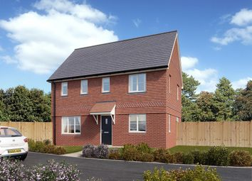 "Thumbnail 3 bedroom detached house for sale in ""The Clayton "" at Reigate Road, Hookwood, Horley"