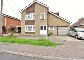 Thumbnail 4 bed detached house for sale in Dewyk Road, Canvey Island