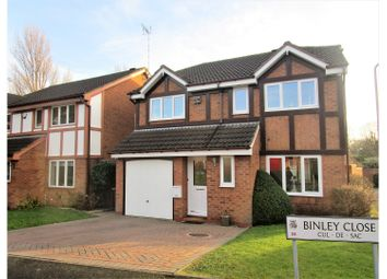 Thumbnail 4 bed detached house for sale in Binley Close, Birmingham