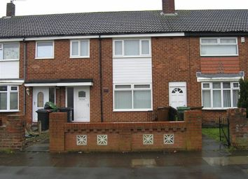 Thumbnail 3 bed terraced house to rent in Macaulay Road, Hartlepool