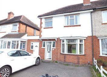 Thumbnail 3 bed semi-detached house to rent in Delamere Road, Hall Green, Birmingham