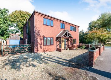 Thumbnail 4 bed detached house for sale in Station Drive, Wisbech St. Mary, Wisbech