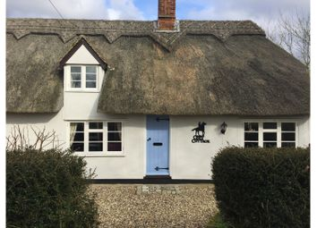 Thumbnail 3 bedroom detached house for sale in Bradley Road, Burrough Green, Newmarket