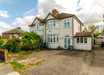 Thumbnail 4 bed semi-detached house for sale in Kilvinton Drive, Enfield