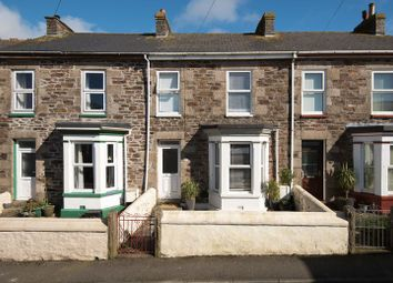 Thumbnail 3 bed terraced house for sale in Bellevue, Redruth
