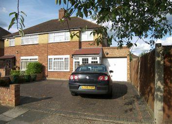 Thumbnail 3 bed property to rent in Warren Drive, Ruislip