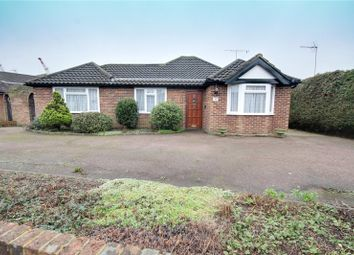 Thumbnail 3 bed detached bungalow for sale in Fordbridge Close, Chertsey, Surrey