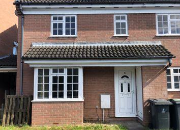Thumbnail 2 bed semi-detached house to rent in Dorrington Close, Luton