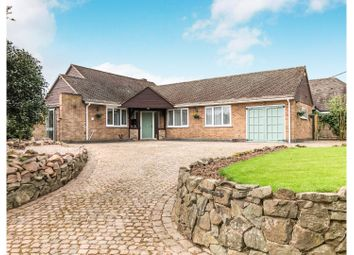 Thumbnail 3 bed detached bungalow for sale in Church Lane, Fenny Drayton
