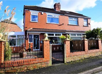 Thumbnail 3 bed semi-detached house for sale in Grange Drive, Manchester
