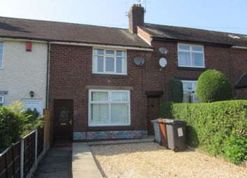 Thumbnail 2 bed terraced house for sale in Belgrave Avenue, Congleton