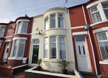 Thumbnail 2 bed terraced house for sale in Park Road, Wallasey