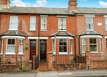Thumbnail 2 bed terraced house to rent in Greenhill Road, Winchester