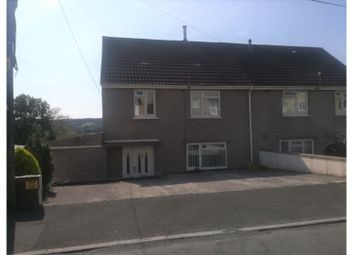 Thumbnail 3 bed semi-detached house for sale in Heol Llethryd, Llanelli