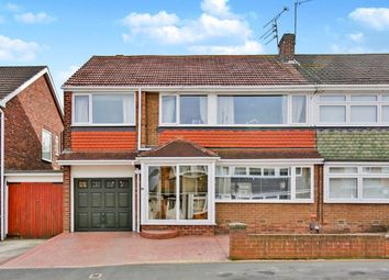 Thumbnail 5 bed semi-detached house for sale in Hawes Avenue, Chester Le Street