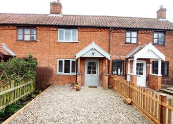 Thumbnail 2 bed terraced house for sale in Skipping Block Row, Wymondham, Norfolk