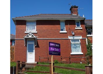 Thumbnail 3 bedroom semi-detached house for sale in Lowdon Terrace, Barry