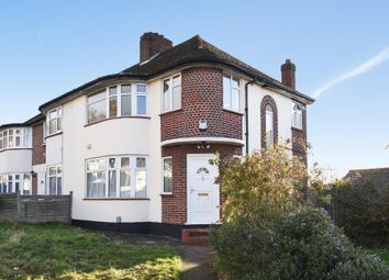 Thumbnail 3 bed semi-detached house to rent in Beverley Gardens, Stanmore