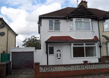 Thumbnail 3 bed terraced house to rent in Fitzroy Avenue, Luton