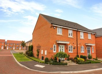 Thumbnail 3 bed semi-detached house for sale in Jefferson Grove, Seaton Delaval, Whitley Bay