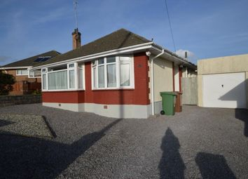 Thumbnail 2 bed detached bungalow for sale in Furzehatt Park Road, Plymouth, Devon