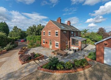 Thumbnail 5 bed detached house for sale in Queensway, Darras Hall