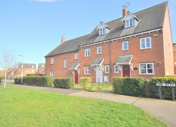 Thumbnail 3 bedroom terraced house for sale in The Jitty, Mawsley Village, Kettering, Northamptonshire