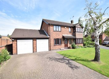 Thumbnail 4 bed detached house for sale in Kiln Close, West Hallam, Ilkeston