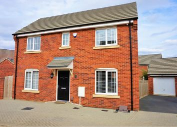 Thumbnail 3 bedroom detached house for sale in Drake Way, Northampton
