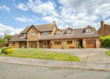 Thumbnail 6 bed detached house for sale in Lister Drive, West Hunsbury, Northampton