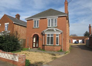 Thumbnail 3 bed detached house for sale in Ramnoth Road, Wisbech
