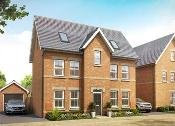 "Thumbnail 4 bed detached house for sale in ""Hexley"" at Station Road, Longstanton, Cambridge"