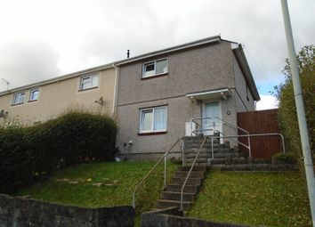 Thumbnail 2 bedroom end terrace house for sale in Tanymarian Road, Mayhill, Swansea