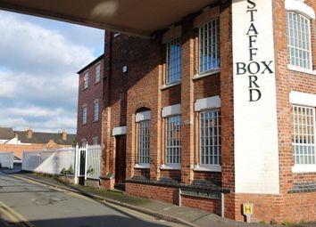 Thumbnail 1 bed flat to rent in Stafford Box, Wogan Street, Stafford